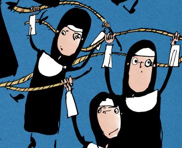 Hanging nuns